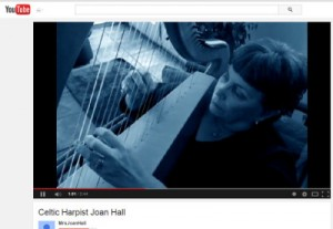 Celtic Harp Video